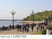 Хабаровск. Набережная (2011 год). Стоковое фото, фотограф Евгений Леонов / Фотобанк Лори
