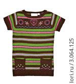 Купить «Зелёный вязаный свитер на белом фоне», фото № 3064125, снято 18 декабря 2011 г. (c) Руслан Кудрин / Фотобанк Лори