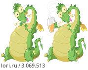 Купить «Дракон», иллюстрация № 3069513 (c) Лопатин Антон / Фотобанк Лори