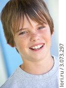 Купить «Маленький мальчик улыбается», фото № 3073297, снято 1 июля 2007 г. (c) Monkey Business Images / Фотобанк Лори