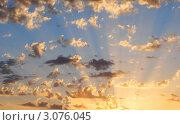 Купить «Солнечные лучи», фото № 3076045, снято 4 апреля 2020 г. (c) Татьяна Королева / Фотобанк Лори
