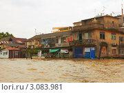 Купить «Наводнение в Таиланде», фото № 3083981, снято 22 января 2019 г. (c) Виктор Савушкин / Фотобанк Лори
