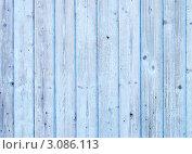 Старая синяя стена из досок. Стоковое фото, фотограф Григорий Иваньков / Фотобанк Лори