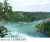 Ниагарский водопад. Стоковое фото, фотограф Татьяна Давыдова / Фотобанк Лори