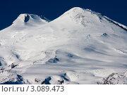 Купить «Эльбрус. Горный пейзаж», фото № 3089473, снято 11 января 2011 г. (c) Алексей Егоров / Фотобанк Лори