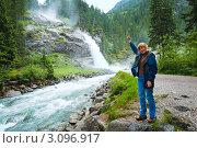 Купить «Каскад водопадов Кримль (Австрия). Лето.», фото № 3096917, снято 2 июня 2011 г. (c) Юрий Брыкайло / Фотобанк Лори