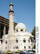 Купить «Строящаяся мечеть», фото № 3102589, снято 6 сентября 2009 г. (c) Анна Мегеря / Фотобанк Лори