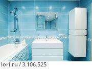 Купить «Интерьер современной ванной», фото № 3106525, снято 1 июля 2010 г. (c) Николай Охитин / Фотобанк Лори