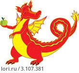 Купить «Огненный дракон», иллюстрация № 3107381 (c) Павлова Елена / Фотобанк Лори