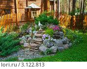 Купить «Альпийская горка», фото № 3122813, снято 2 июля 2011 г. (c) Юлия Бабкина / Фотобанк Лори