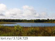 Купить «Череменецкое озеро», фото № 3124729, снято 25 сентября 2009 г. (c) Михаил Смиров / Фотобанк Лори