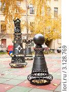 Шахматный дворик. Санкт-Петербург. Редакционное фото, фотограф Егор Архипов / Фотобанк Лори