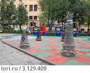 Купить «Шахматный дворик», фото № 3129409, снято 4 сентября 2010 г. (c) Левина Татьяна / Фотобанк Лори