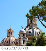 Руины Римского Форума. Рим, Италия (2008 год). Стоковое фото, фотограф ElenArt / Фотобанк Лори