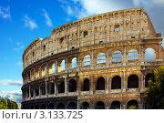 Купить «Рим, Италия. Амфитеатр Колизей», фото № 3133725, снято 26 августа 2008 г. (c) ElenArt / Фотобанк Лори