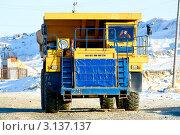 Купить «Белаз», фото № 3137137, снято 29 декабря 2011 г. (c) Хайрятдинов Ринат / Фотобанк Лори