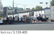Купить «Подготовка к съемке фильма, Москва», видеоролик № 3139405, снято 14 октября 2011 г. (c) Павел С. / Фотобанк Лори
