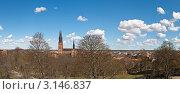 Купить «Швеция, Упсала, панорама города», фото № 3146837, снято 3 мая 2010 г. (c) Argument / Фотобанк Лори