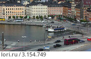Вид на Стокгольм (2011 год). Стоковое видео, видеограф chaoss / Фотобанк Лори