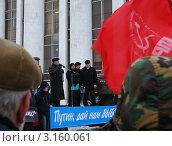 Купить «Выборы, выборы ...», фото № 3160061, снято 24 декабря 2011 г. (c) Сергей Бойков / Фотобанк Лори