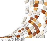 Купить «Абстрактный мозаичный фон из геометрических фигур», иллюстрация № 3160281 (c) Павел Коновалов / Фотобанк Лори