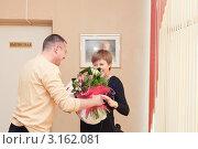 Купить «Выписка из роддома», фото № 3162081, снято 15 ноября 2011 г. (c) Кристина Викулова / Фотобанк Лори