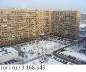Купить «Москва. Виды города. Район Новокосино», эксклюзивное фото № 3168645, снято 19 января 2012 г. (c) lana1501 / Фотобанк Лори