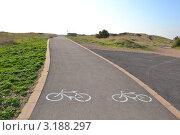 Велодорожка. Стоковое фото, фотограф Любовь Лапухина / Фотобанк Лори