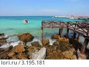 Пляж на острове Ко Ларн. Стоковое фото, фотограф Диана Карлова / Фотобанк Лори