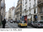 Купить «Улицы Парижа», фото № 3195369, снято 18 января 2012 г. (c) natalya ryzhko / Фотобанк Лори