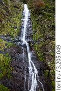 Купить «Красивый горный водопад», фото № 3205049, снято 16 января 2019 г. (c) Виктория Катьянова / Фотобанк Лори