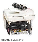 Купить «Неработающий лазерный принтер», фото № 3208349, снято 31 января 2012 г. (c) Юрий Плющев / Фотобанк Лори