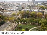 Купить «Париж с высоты птичьего полета», фото № 3210109, снято 7 октября 2011 г. (c) Яна Королёва / Фотобанк Лори