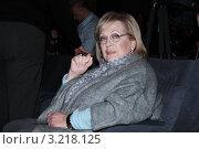 Галина Волчек (2012 год). Редакционное фото, фотограф Архипова Екатерина / Фотобанк Лори