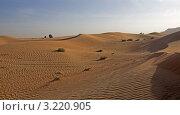 Дюны пустыни Руб-эль-Хали. ОАЭ., фото № 3220905, снято 4 января 2012 г. (c) GrayFox / Фотобанк Лори