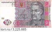 Купить «Десять гривен», фото № 3225885, снято 15 августа 2018 г. (c) Илья Садовский / Фотобанк Лори