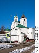 Купить «Ярославль, Спасо-Преображенский монастырь», фото № 3228817, снято 28 января 2012 г. (c) ElenArt / Фотобанк Лори