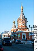 Купить «Ярославль, часовня Александра Невского», фото № 3228849, снято 28 января 2012 г. (c) ElenArt / Фотобанк Лори