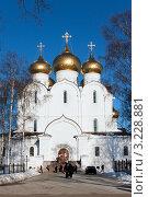 Купить «Ярославль, Успенский Собор», фото № 3228881, снято 28 января 2012 г. (c) ElenArt / Фотобанк Лори