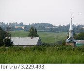 Купить «Татарская деревня», фото № 3229493, снято 23 августа 2007 г. (c) Рашит Загидуллин / Фотобанк Лори