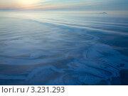 Морозное утро. Зимний пейзаж. Вид сверху. Стоковое фото, фотограф Владимир Мельников / Фотобанк Лори