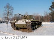 Купить «Тяжелый танк КВ-1С», фото № 3231617, снято 5 февраля 2012 г. (c) Виктор Карасев / Фотобанк Лори