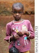 Африканский ребенок (2011 год). Редакционное фото, фотограф Перевалова Ольга Геннадьевна / Фотобанк Лори