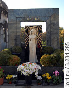 Купить «Могила Далиды на кладбище Монмартр в Париже», фото № 3234285, снято 14 октября 2010 г. (c) Светлана Колобова / Фотобанк Лори