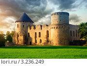 Купить «Старый замок в Цесисе, Латвия», фото № 3236249, снято 27 августа 2011 г. (c) Alexander Tihonovs / Фотобанк Лори