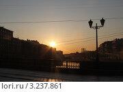 Солнечный мост. Стоковое фото, фотограф Анна Ткачева / Фотобанк Лори