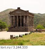 Храм Солнца в Гарни, Армения. Стоковое фото, фотограф Андрей Щавелев / Фотобанк Лори