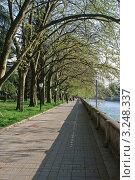 Купить «Набережная реки Сочи», фото № 3248337, снято 11 мая 2011 г. (c) Александр Лопатченко / Фотобанк Лори