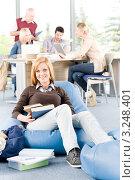 Купить «Непринужденная обстановка на занятии», фото № 3248401, снято 30 апреля 2011 г. (c) CandyBox Images / Фотобанк Лори