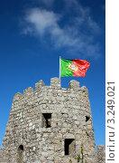 Старая сторожевая  башня города Синтра Португалия (2012 год). Стоковое фото, фотограф киров николай / Фотобанк Лори